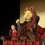 Szene aus Der Löwe und die Maus